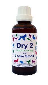 Dry 2 Herbal Remedy for Dogs with Loose Stools