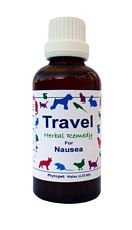 Travel Herbal Remedy for Dogs Suffering Nausea when Travelling